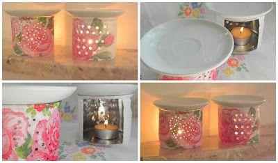Zakątek Kreatywnych Kobiet: DIY czyli jak zrobić kominek na olejki eteryczne, czyli domowa aromaterapia wg Kasi:)