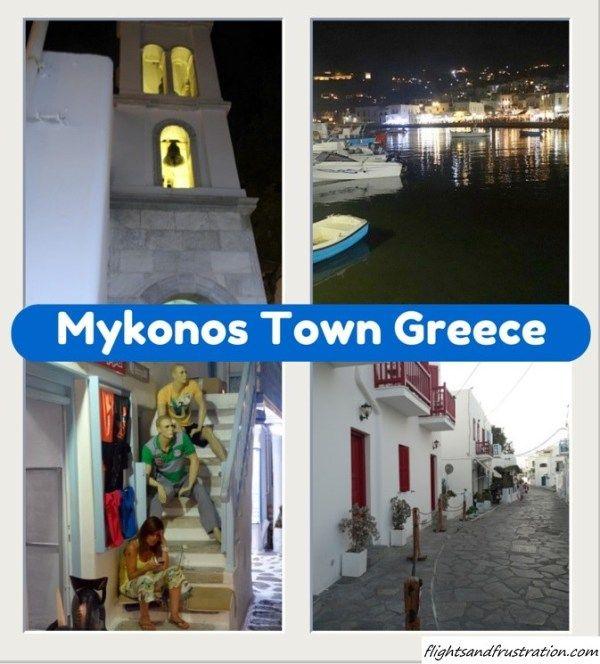 Exploring the delightful #Mykonos Town #Greece at night http://flightsandfrustration.com/mykonos-town-at-night-time/