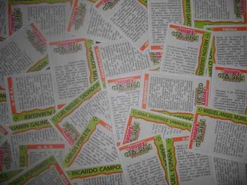 Lote De 31 Tarjetas Futgolazo De Bambino ( Años 80s ) en venta en Alvaro Obregón Distrito Federal por sólo $ 450,00 - CompraCompras.com Mexico