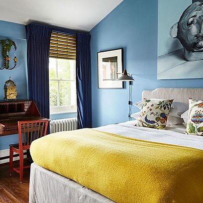 The 25+ best Mustard bedroom ideas on Pinterest   Mustard and grey bedroom,  Grey colour scheme bedroom and Ochre bedroom