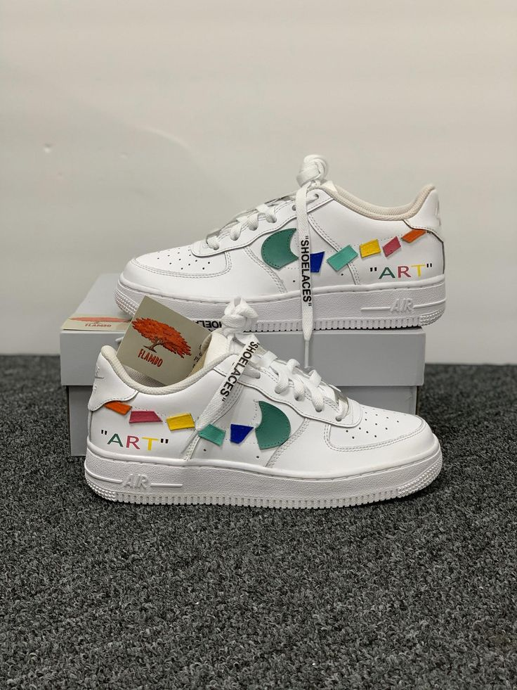 Nike Air Force 1 Custom 'Art' Available in all sizes