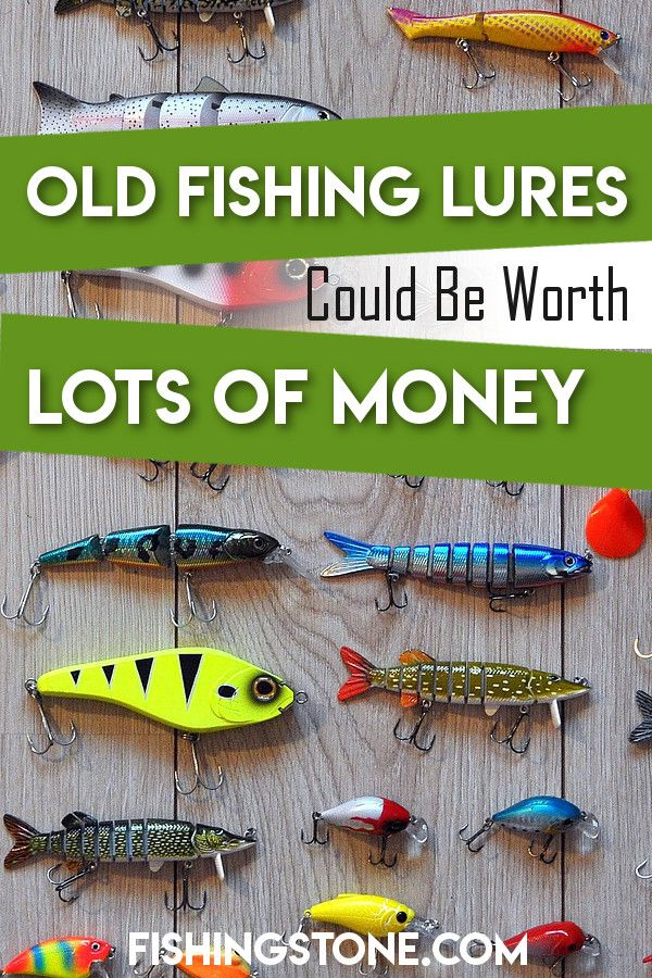 1262 best fishing lures images on pinterest fishing for Old fishing lures worth money