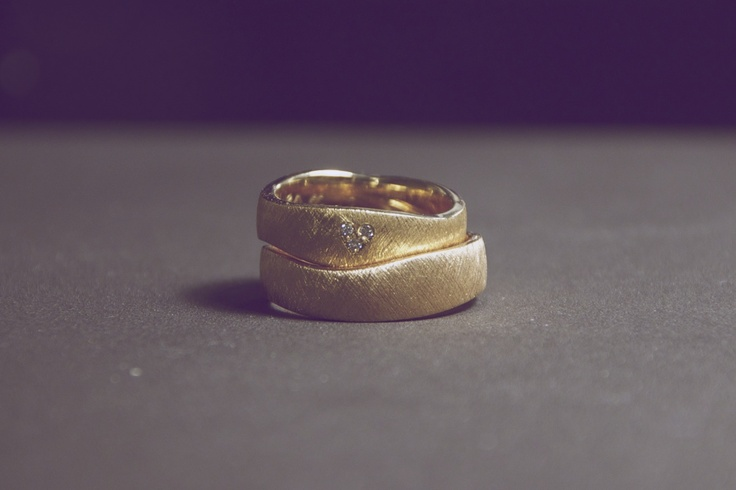 A picture of our wedding rings :) - made by Aagaard  #wedding #rings