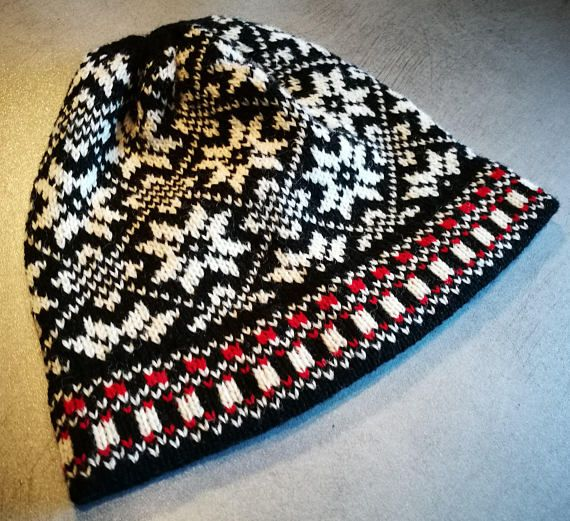 Check out this item in my Etsy shop nordic hat https://www.etsy.com/listing/552840867/etnic-pattern-knitted-hat-snowflake