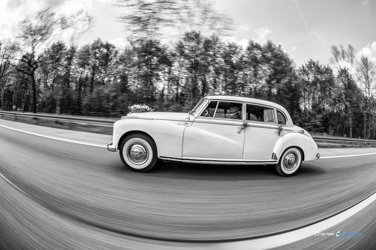 Toller Oldtimer als Hochzeitsauto...