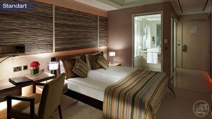 Cratos Premium Hotel'in odaları gerçekten çok ince bir zevkle donatılarak sizlere hizmet vermekte.