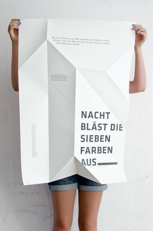 Night poster by Sieglinde Fischer