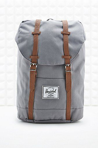 Herschel Retreat Backpack in Grey - Urban Outfitters