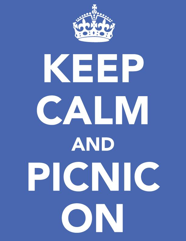 Happy Weekend {Keep Calm and Picnic On}