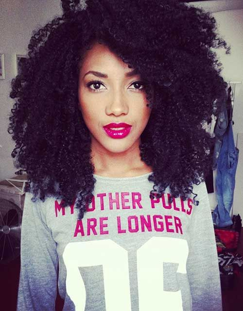 15 Short Curly Afro Hairstyle | Short Hairstyles 2015 - 2016 ...
