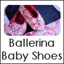 Free pattern for baby shoes