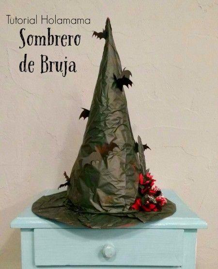 Tutorial Holamama: Sombrero de Bruja   Holamama blog