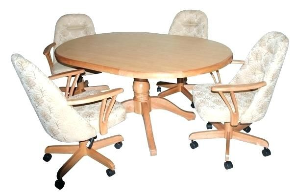 Unique Caster Dining Chairs Perfect Dining Room Table And Chairs