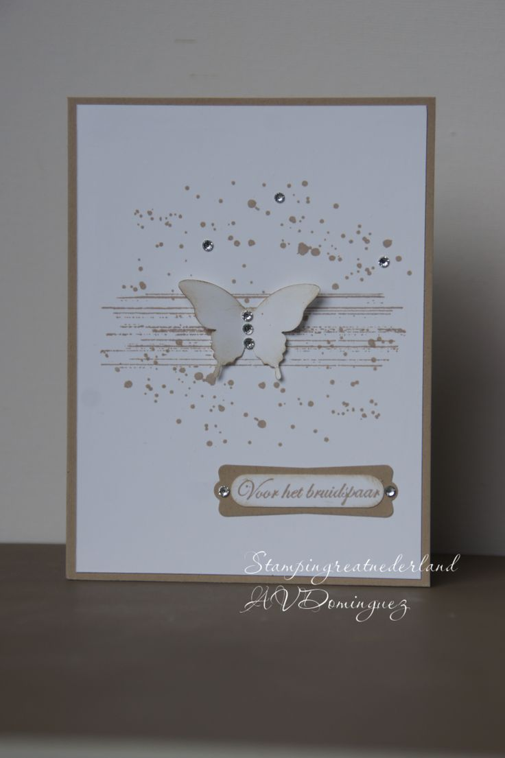 Stampin' Up!, Gorgeous grunge, Elegant butterfly punch