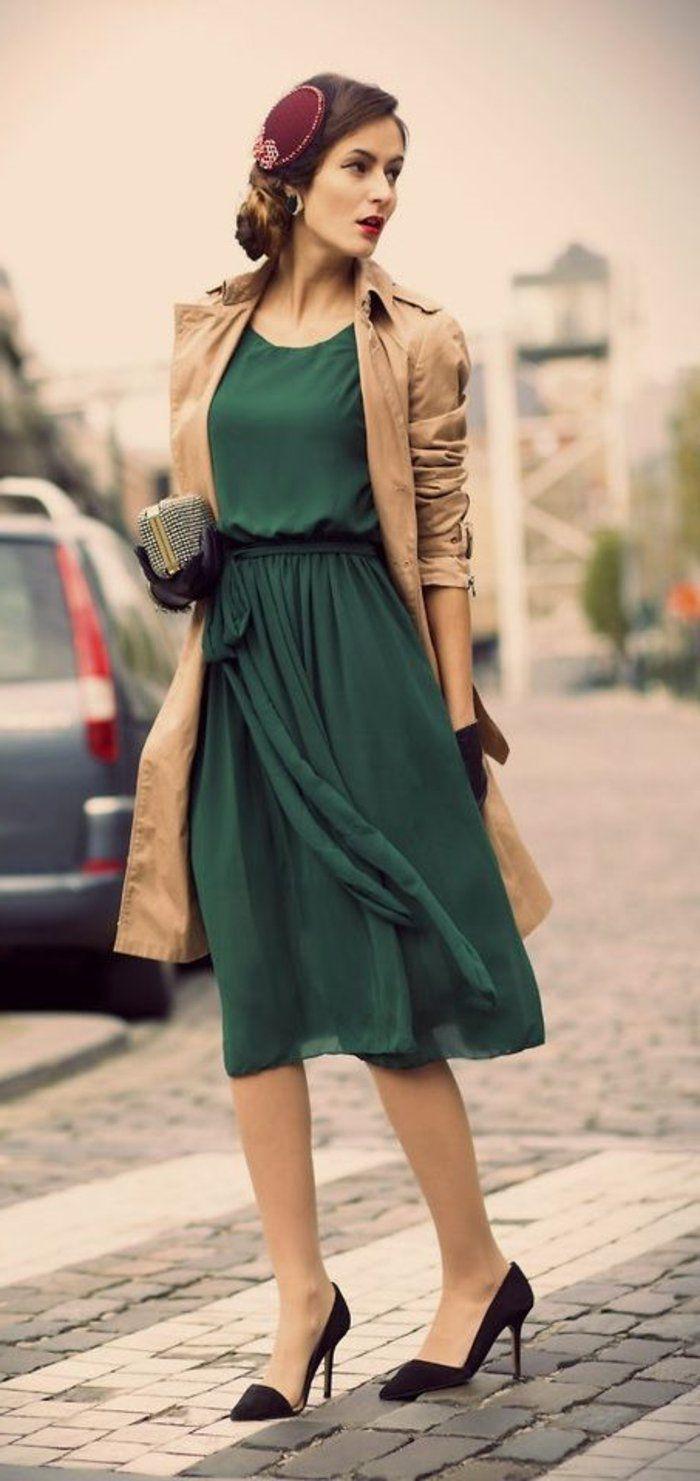 Tenues chics pour femmes rondes tenue de jour femme charmante