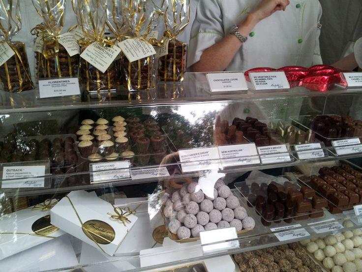 Mayfield Chocolates.