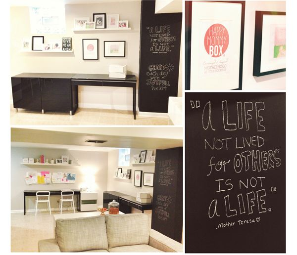 The Busy Budgeting Mama Our IKEA Basement Makeover A Kid Friendly Adult Space