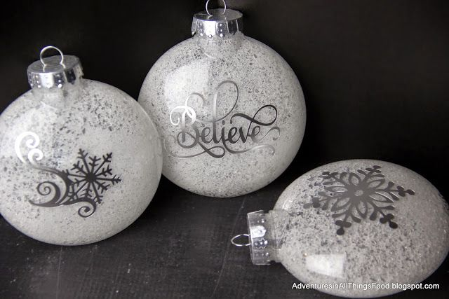 Adventures in all things food: Simple Handmade Ornaments - Just in Time for the Holidays!