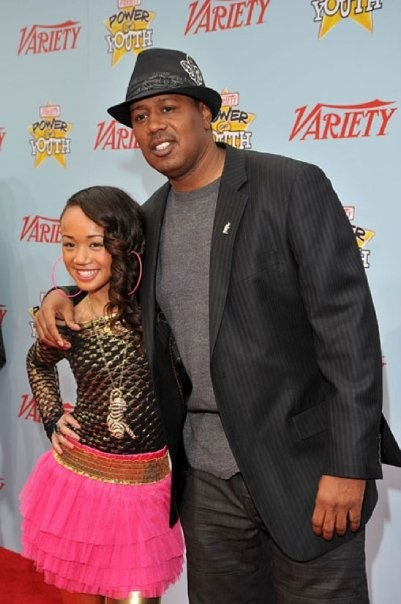 Master P and his daughter Cymphonique