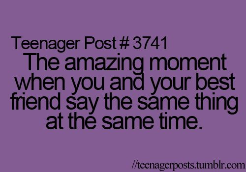 Me and Katlin all the time: Best Friends, Quotes, Teenagerposts, So True, Funny Stuff, Teenage Posts, Teen Post, Teenager Posts