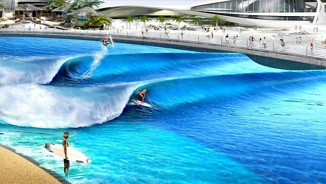 An epic wave pool and water park is coming to the Sunshine Coast http://blog.queensland.com/2014/07/29/webber-wave-pool-sunshine-coast/ #thisisqueensland