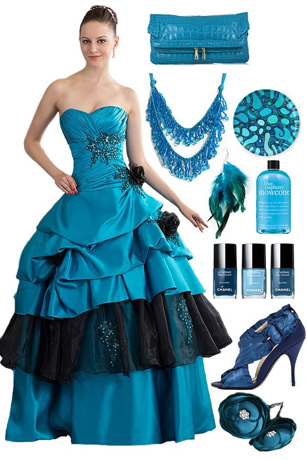 Ball Gown A-line Dress with Beading -- Cherishdress. Please clickt to http://www.cherishdress.com/
