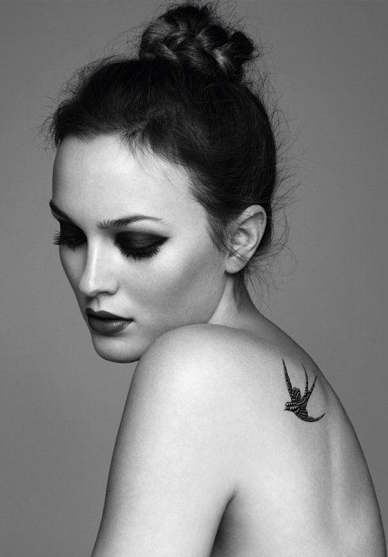 Tatouage hirondelle oiseau - les Top 30 plus beaux