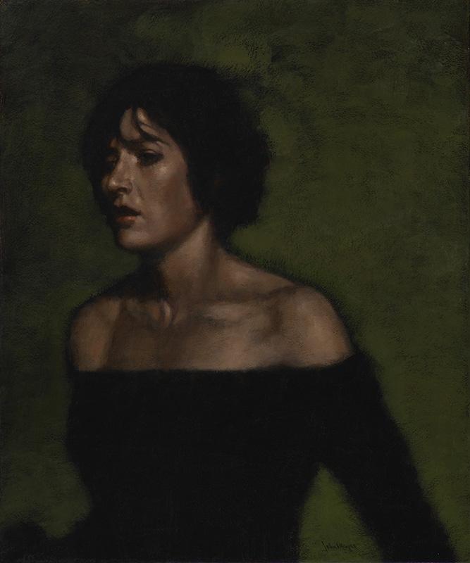 Artist: John Meyer  Title: Pandora  Size: 51 x 61 cm