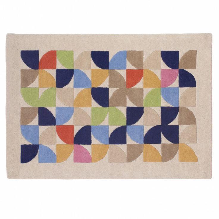 Soho Hand Tufted Rug - Rugs - Home Furnishings #Sabichi #rugs #handmade #craftsmen #homedecor #sabichistyle