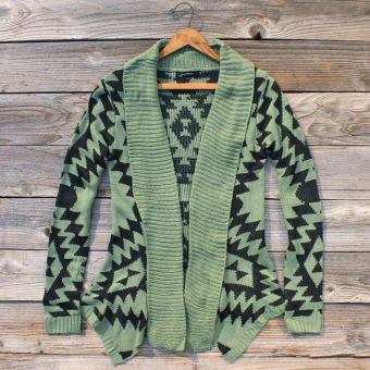 .: Mint Green, Winter Is Coming, Tribal Sweaters, Fall Sweaters, Aztec Cardigans, Tribal Prints, Summer Clothing, Aztec Sweaters, Tribal Patterns