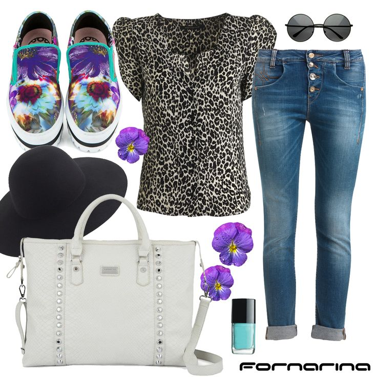 Fornarina styling tips #fornarina #myFornarina #stylingtips #lookidea #fashion #denim #leopardshirt