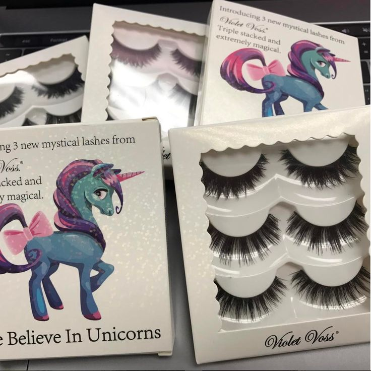 Violet Voss Eye Believe in Unicorns Lashes Will Complete Your Majestic Collection | Allure