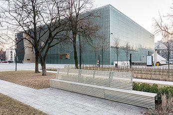 Muzeum Historii Zydow Polskich, Warszawa, Muranow na Muranowie, POLIN, projekt: Rainer Mahlamaki,