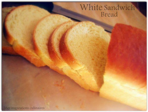 Les 25 meilleures id es de la cat gorie recettes de pain - Recette sandwich pain de mie ...