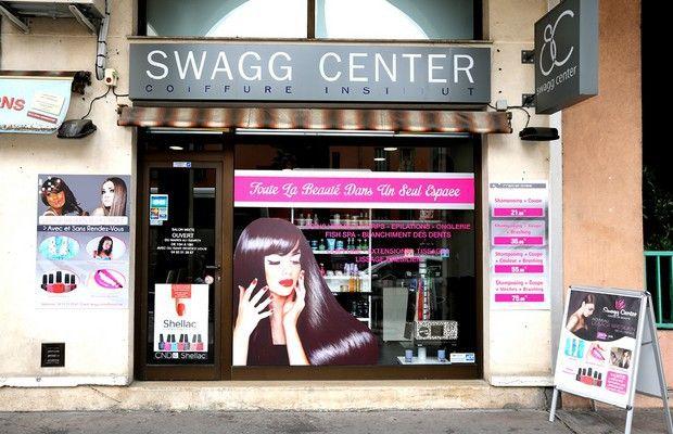 SWAGG CENTER / Institut de beauté & coiffeur à Nice.