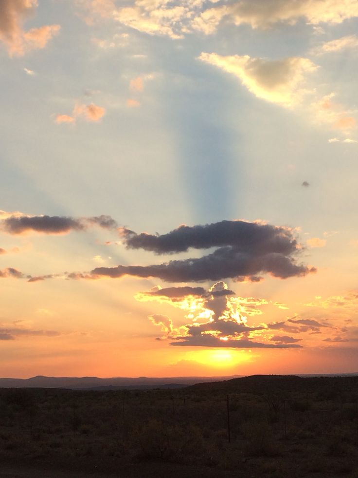 Karoo Sunset, South Africa