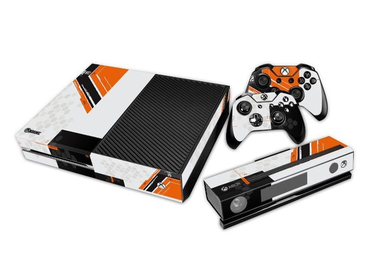 *NEW* Xbox One Skin! Titanfall Includes : (2) Controller Skins (1) Console Skin - (1) Kinect Skin