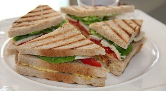 Receita Club Sandwich