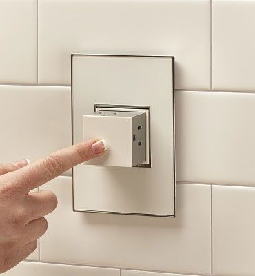 adorne® Pop-Out Outlet, 1-Gang, White   by Legrand