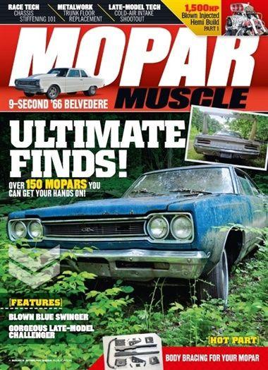 Abonner på Mopar Muscle fra Bladkongen. Om denne nettbutikken: http://nettbutikknytt.no/bladkongen-no/