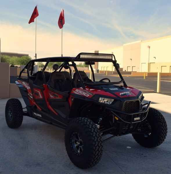 New 2015 Polaris RZR XP 4 1000 EPS Custom Havasu Red Pear ATVs For Sale in Arizona. 2015 Polaris RZR XP 4 1000 EPS Custom Havasu Red Pearl, We will not be beat, bring your in state price today! To assure the best customer service and Internet pricing, make sure to ask for Web Sales Manager! Here at RideNow Powersports in Peoria we carry; Yamaha, Honda, Suzuki, Kawasaki, Victory, Indian, Polaris, Can-Am, Sea-Doo, and pre-owned Harley Davidson products serving; Phoenix, Scottsdale, Goodyear…