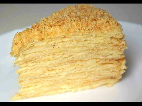 Классический Торт Наполеон рецепт приготовления (Рецепт MasterVkusa) - YouTube
