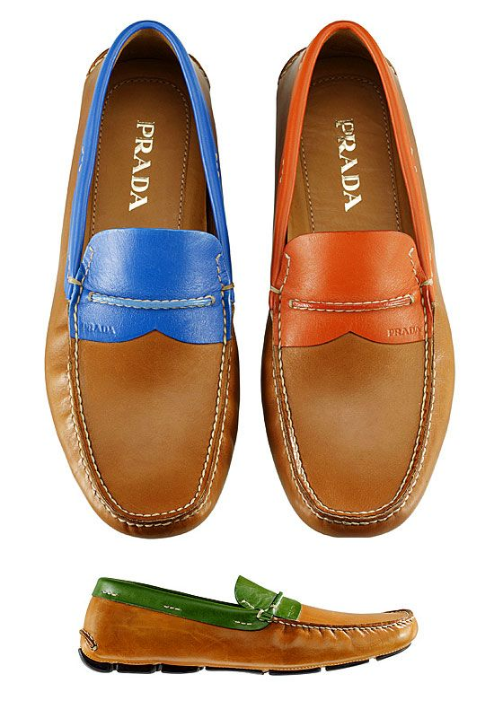 Mens Spring 2012 moccasins Prada-men-shoes-2012-men-shoes-