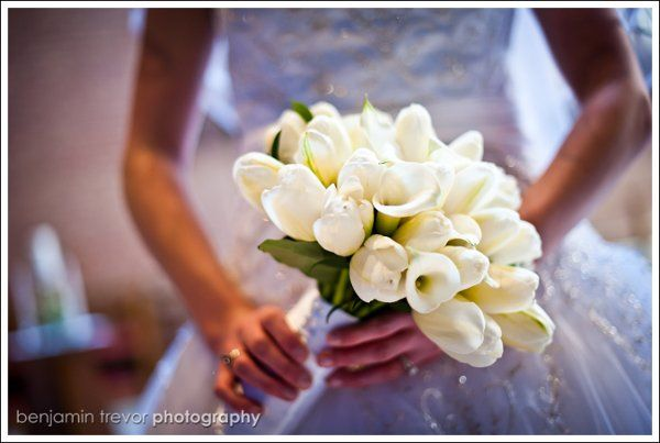 Amazing French Tulip bridal boquet.