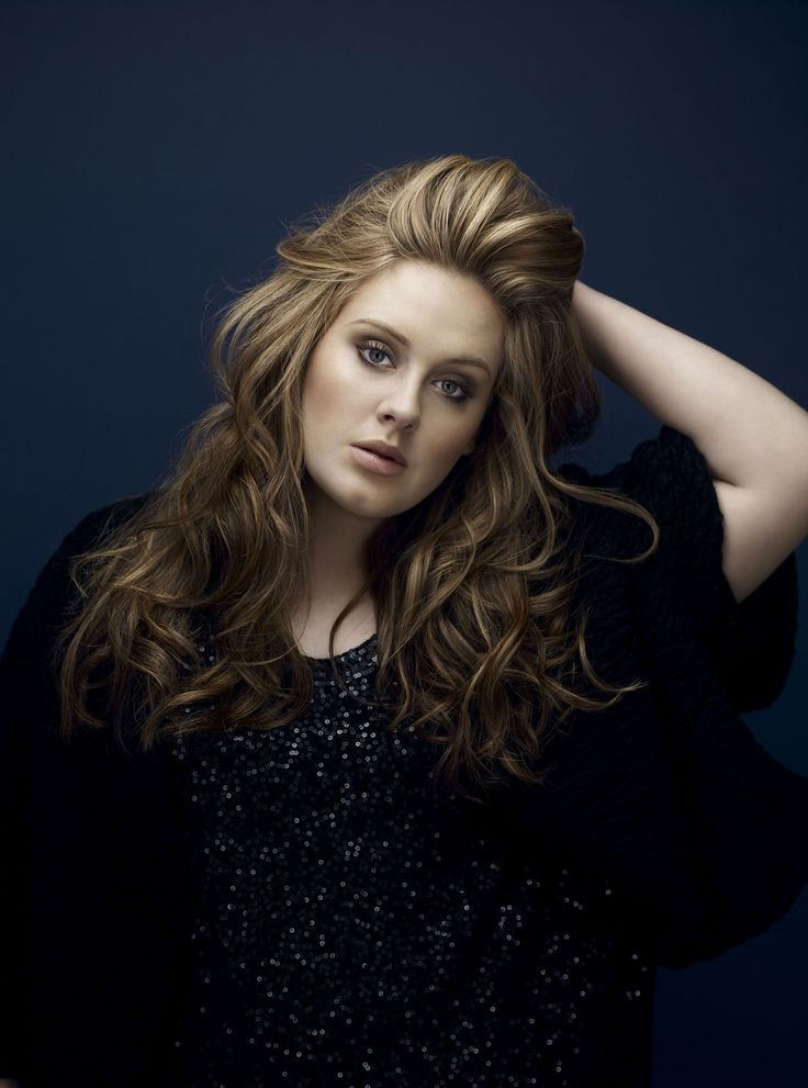 Adele.I think she's beautiful and always seems to sing my thoughts so beutifully