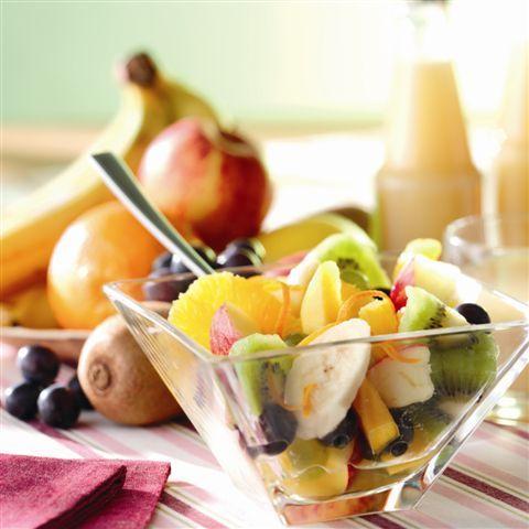 Fruitsalade   biologisch    recepten   eten   food   bionext