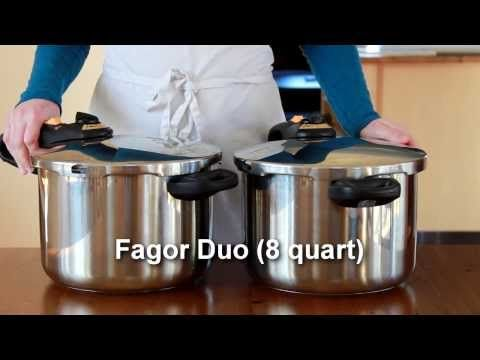How to Use a Pressure Cooker (Fagor Duo) - YouTube