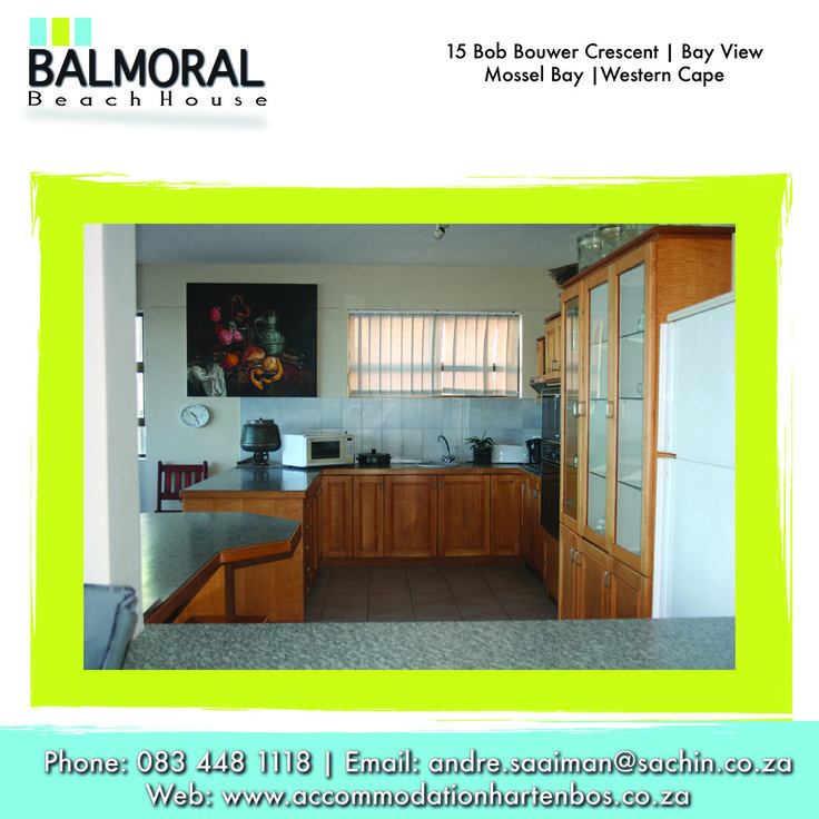 Fully equipped to fulfill  any of your whims and needs. If you stay with us all your needs will be fulfilled. need to see more: http://besociable.link/z2 Call us now: 083 448 1118 E-Mail: andre.saaiman@sachin.co.za #kitchen #accommodation #Hartenbos