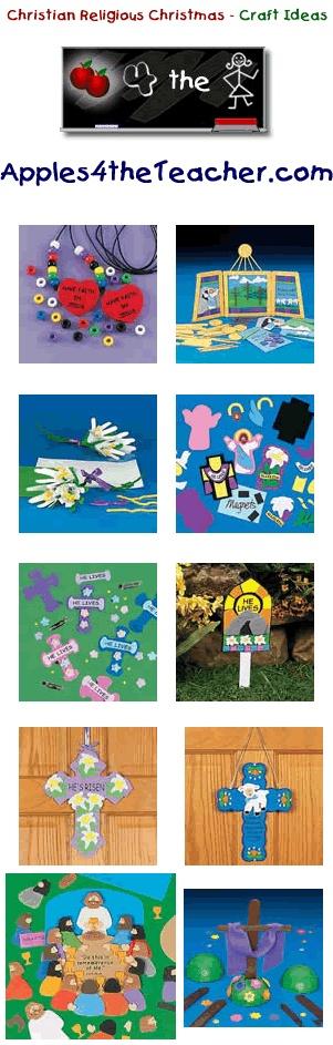 Fun Christmas crafts for kids - Christmas craft ideas for children. http://www.apples4theteacher.com/holidays/christmas-religious/kids-crafts/