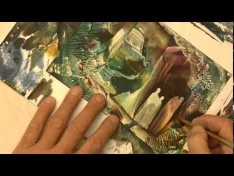 Fantasy Castle Cards 4 : Angels & Castles - YouTube